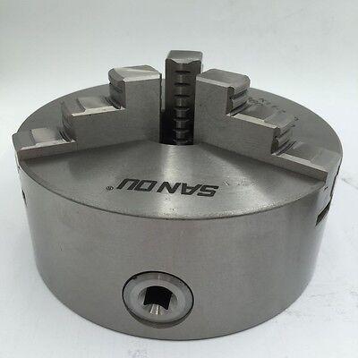 K11 Lathe Chuck 3-jaw Self-Centering 80 100 125 130 160 200mm Metal Mill Lathe 7