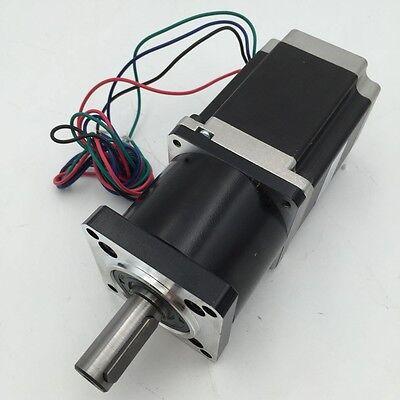 Nema23 Stepper Motor 1.1Nm with Planetary Gearbox 5/10/20/30/50:1 Gear Head CNC 2