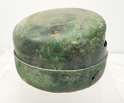 Antique Early Antiquity Covered Bronze Box Excavated Japanese Greco-Roman 2