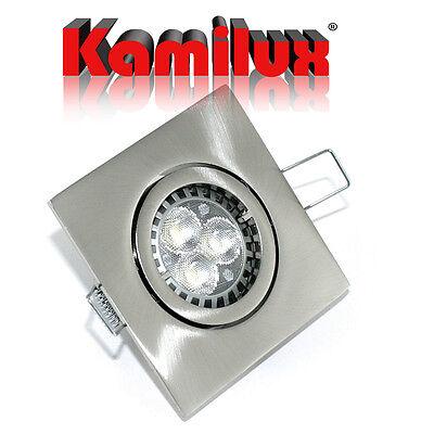 led bad einbauleuchte quajo 5 watt 50 watt einbaustrahler set 230v gu10 spot eur 29 95. Black Bedroom Furniture Sets. Home Design Ideas
