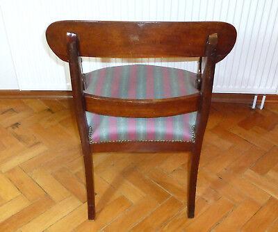 Ausgefallener alter Sessel Spätbiedermeier um 1850 6