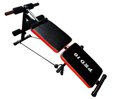 Banco de musculacion/entrenamiento plegable y ajustable marca Pro10 2