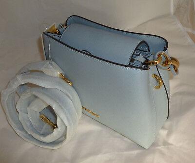 e72d8cfd71d0f 5 5 von 12 MICHAEL KORS Portia Satchel Blau Damentasche Saffiano Leder  Tasche NEU ! 8