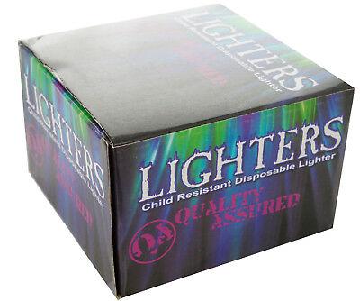 (50) Disposable Classic Cigarette Lighters - Full Standard Size - Wholesale Case 3