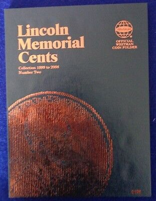 Whitman Lincoln Memorial Cents #1 & 2 1959-2008 Coin Folders, Albums Books 7