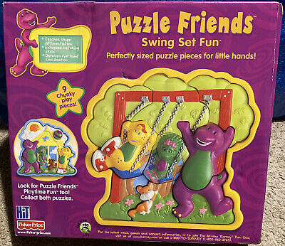 NEW Barney Bath Time Pal Foamin Fun Castle Playset with Figures 2002