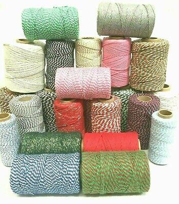 Bakers Twine Craft Christmas Gift Wrapping Cord String 10 , 20 or 30 Metres 6