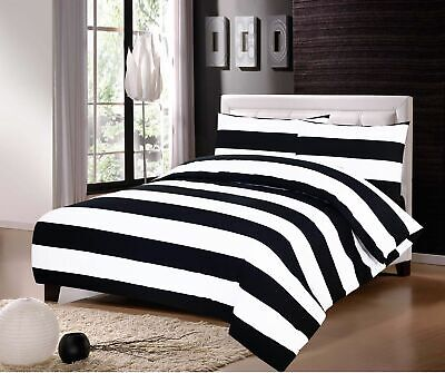 Luxury 100% Egyptian Cotton Printed Duvet Cover Sets Bedding Sets All Sizes 3