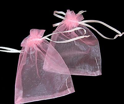 100 Luxury Organza Gift Bags Wedding Favour Chrisamas Jewellery Candy Pouches 7