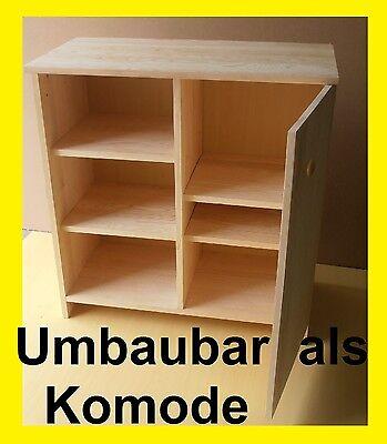 Wickelkommode Wickeltisch Kommode Regal  Massivholz Umbaubar ANGEBOT NEU 3
