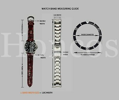 19 20 21MM President jubilee Watch Band Bracelet Fits for Rolex Stainless Silver 2