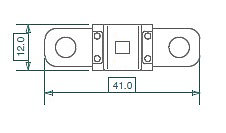 Fusibles de alta calidad MAI MD80 Fusible midi 80 A