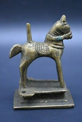 Near Eastern brass horse figurine C. 18th century AD 3