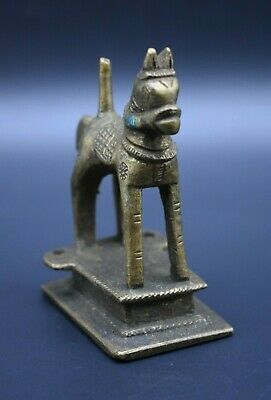 Near Eastern brass horse figurine C. 18th century AD 2