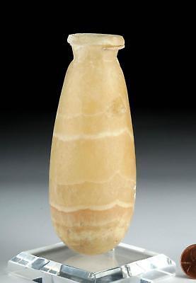 Egyptian Late Dynastic Alabaster Jar - Alabastron Lot 3
