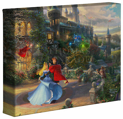 Thomas Kinkade Studios Disney 8 x 10 Gallery Wrapped Canvas (Choice of 6) 4