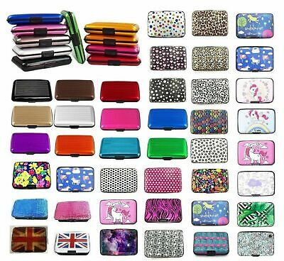 RFID CREDIT CARD HOLDER Case Protector Waterproof Anti-Theft Contactless Block 2