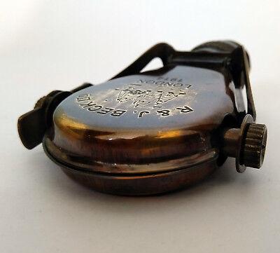 Antique Telescope Fold-able Brass Binoculars Monocular Vintage Nautical Spyglass