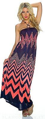 2a19049e7303 ... 4 di 12 VESTITO abito lungo donna estivo fascia elastica vari colori  NUOVO SEXY 5