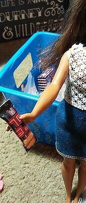 Miniature specialty candy barbie shopkin lps diorama 1:6 10pc 3