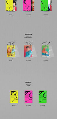 EXO-SC WHAT A LIFE Mini Album CD+POSTER+P.Book+2Card+F.Poster+N.Tag+Sticker+GIFT 9