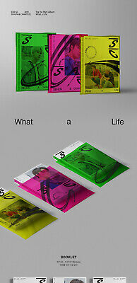 EXO-SC WHAT A LIFE Mini Album CD+POSTER+P.Book+2Card+F.Poster+N.Tag+Sticker+GIFT 5