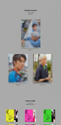 EXO-SC WHAT A LIFE Mini Album CD+POSTER+P.Book+2Card+F.Poster+N.Tag+Sticker+GIFT 8