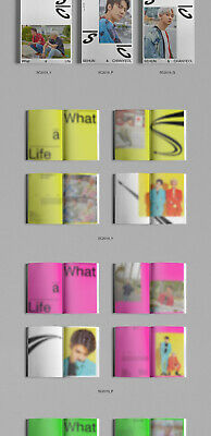 EXO-SC WHAT A LIFE Mini Album CD+POSTER+P.Book+2Card+F.Poster+N.Tag+Sticker+GIFT 6