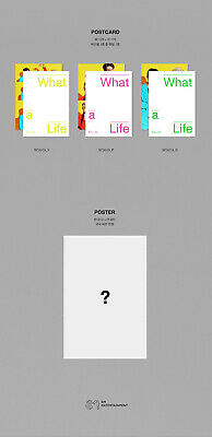 EXO-SC WHAT A LIFE Mini Album CD+POSTER+P.Book+2Card+F.Poster+N.Tag+Sticker+GIFT 10