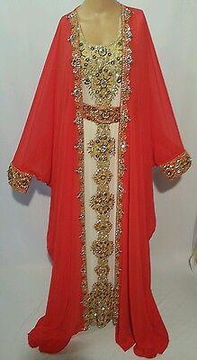 2 pcs wedding  farashas.khaliji farasha.dress.moroccan/indian kaftan.abaya .new 4