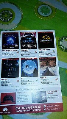 Brochure E.T extraterrestre Royal Albert Hall 28.12.16 Londra 5