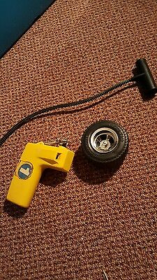 Vintage -FIRE TIRE 1970's Samsonite toy Very Rare Toy Hard to find 3