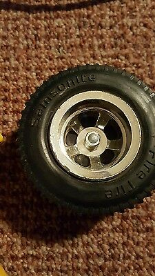 Vintage -FIRE TIRE 1970's Samsonite toy Very Rare Toy Hard to find 4