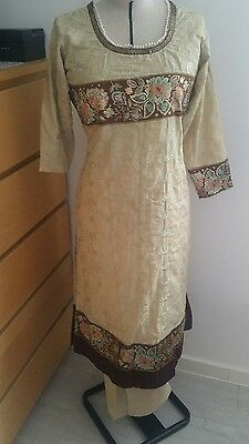 Eid pakistani designer anarkali shalwar kameez saree sari lengha suit medium 3