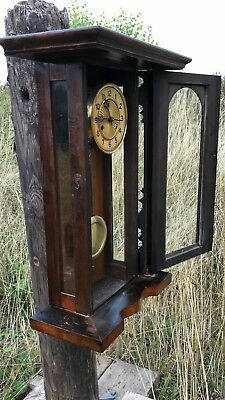 Beautiful Antique Vintage Wooden Wall Clock * 2