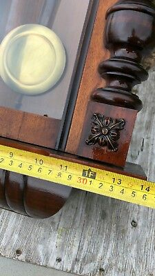 Beautiful Antique Vintage Wooden Wall Clock * 5