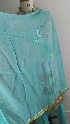 Pakistani shalwar kameez suit anarkali length size medium 10