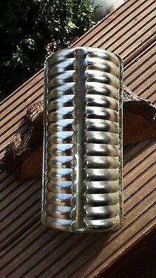 alte Backform Kastenkuchenform aus Metall  Vintage Shabby Landhaus 197R