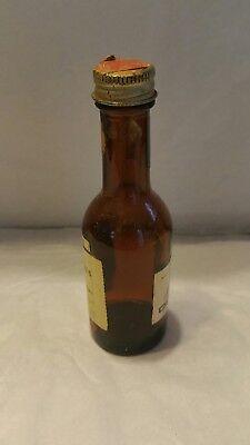 Seagram's V.o. Whisky Miniature Liquor Bottle Vintage Original Empty Seagram's 3