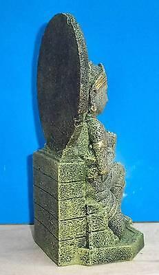 Buddha Warrior Thai Statue Aquarium Ornament Fish Tank Bowl Decoration New 3