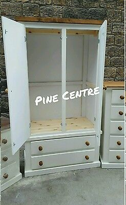 Handmade Aylesbury Next (Ivory+Dark Oak) 4 Piece Bedroom Set Not Flat-Pack!!! 6