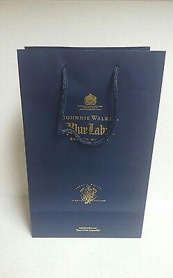 """... Johnnie Walker Blue Label Scotch Whisky Gift Bag 8 3/4 × 14"""" -"""