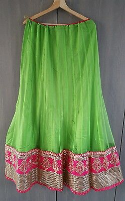 Indian Party Wear Bollywood Anarkali Lengha choli with blouse pice. 2