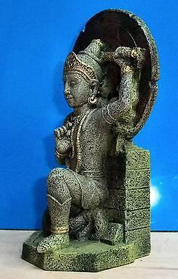 Buddha Warrior Thai Statue Aquarium Ornament Fish Tank Bowl Decoration New 2