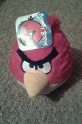 Angry Birds Snood Hat Scarf Gloves Soft Toy Book Hand Puppet Red Bird Rescue New 5