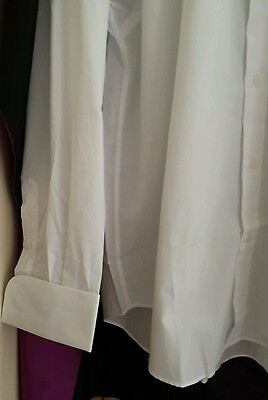 New Collarless Dress Shirt UNIFORMAL Vintage 2