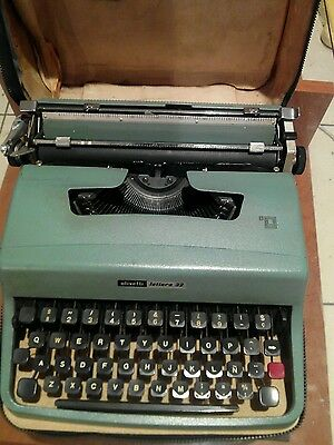 Antigua Maquina De Escribir Olivetti Lettera 32 / Vintage Olivetti Lettera 32 3