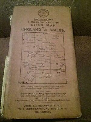1910 ? Old Bartholomews New Reduced Survey  Sheet 2 South Northumberland Map 2
