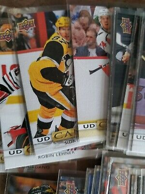 2019-20 Upper Deck Ud Canvas Complete Your Set Pick-Em Crosby Mckinnon Ovechkin 3