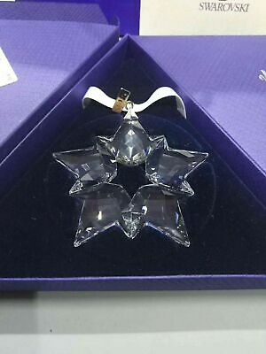 2019 Swarovski Crystal Snowflake Christmas Star Ornament 5427990 2